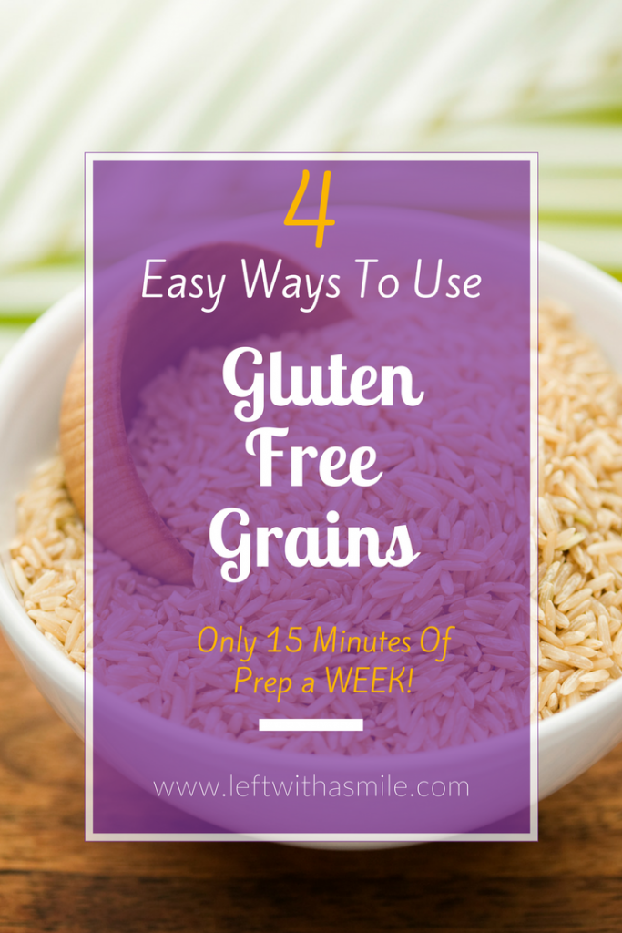 This makes eating healthy gluten free grains so much easier!