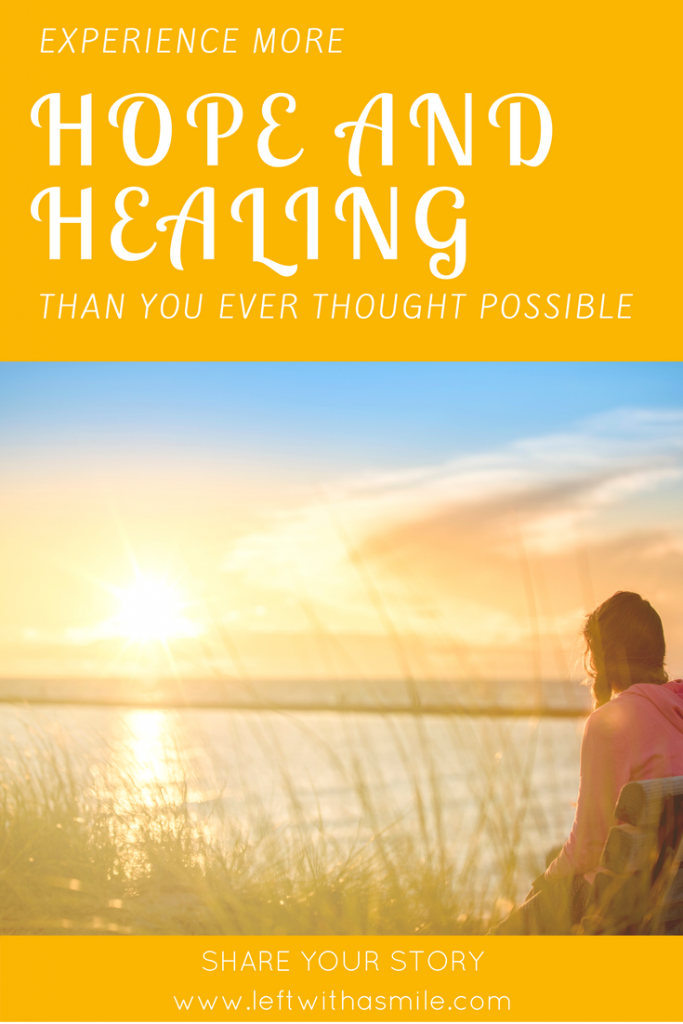 3 Steps to finding hope and healing.