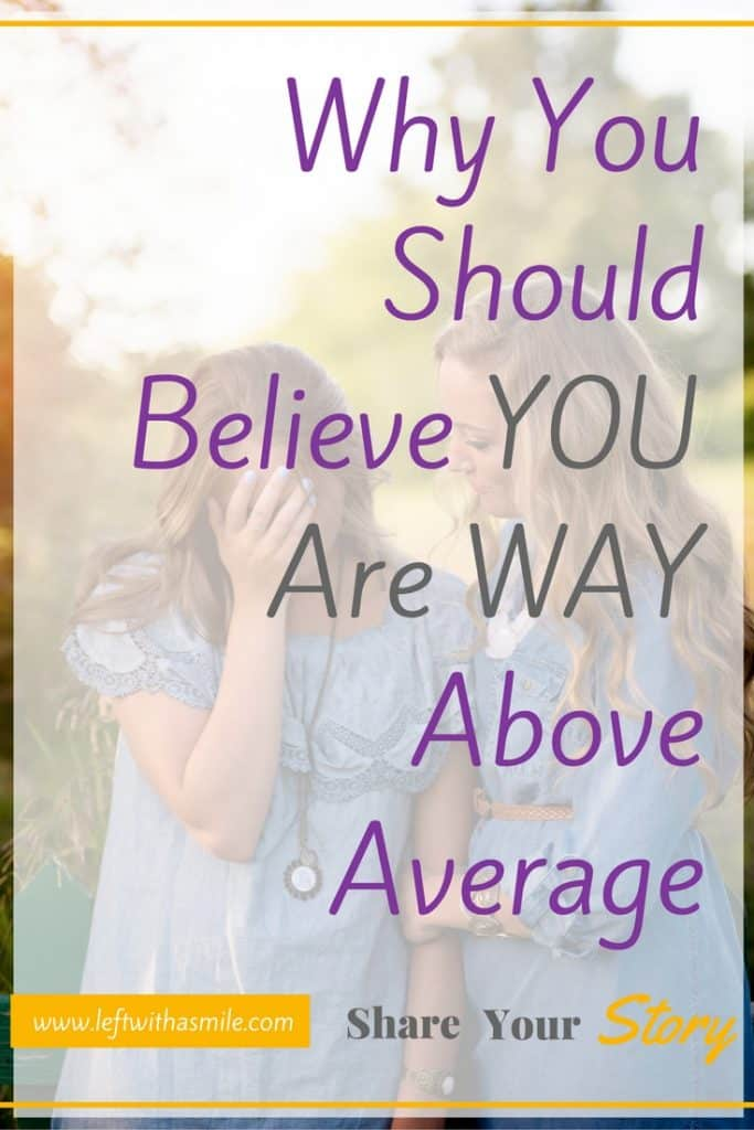 My college professor tried to convince me we are all just average. I proved him wrong.